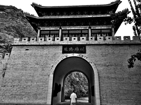 Tiemen Gate located 8km north of Korla City, Xinjiang..jpg
