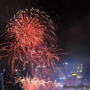 NDP National Education Show 1 Fireworks Jul '18