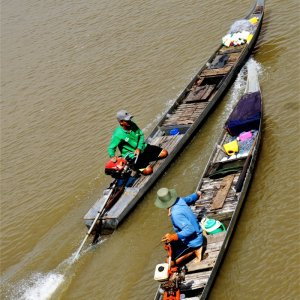Life at Mekong Delta River