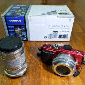 Olympus EPL6, 14-42 and 40-150mm lens