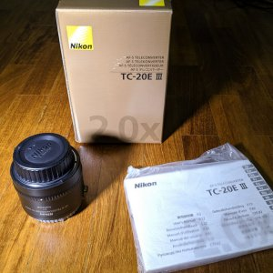 Nikon TC-20E III for sale