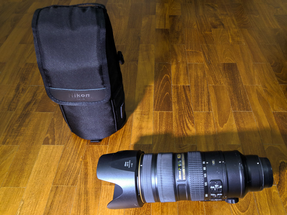 Nikon 70-200mm F2.8G VR II for sale